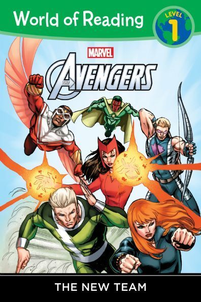 World of Reading : Avengers  1